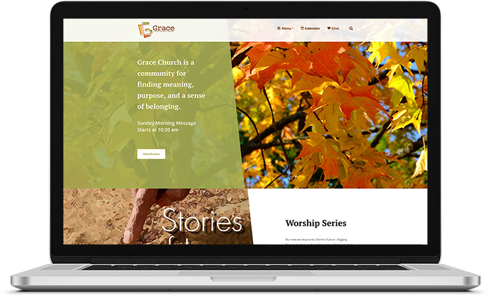 Grace United Methodist Church Website Design